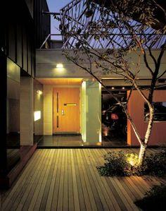 modern korean house – garage