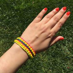 Boho Bracelet, Beach Bracelet, Summer Bracelet, Wrap Bracelet, Boho, Double Wrap, Gipsy Bracelet, Colorful Bracelet, Pink Bracelet by BosphorusBeads on Etsy