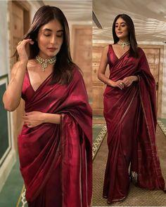 Dress Indian Style, Indian Fashion Dresses, Indian Designer Outfits, Trendy Sarees, Stylish Sarees, Stylish Dresses, Indian Attire, Indian Ethnic Wear, Saris