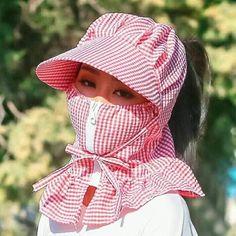 New Women Multi Function Anti-UV Summer Hats – Liberation Xchange Summer Hats, Winter Hats, Tapas, Buy Mask, Summer Stripes, Pattern Cutting, Mode Hijab, Girl With Hat, Fashion Face Mask