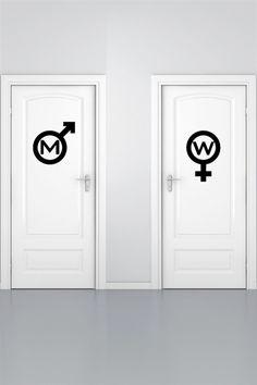 gender symbols for restrooms