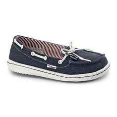 Hey Dude MOKA CLASSIC Damen Slip Auf Schuhe Marine - http://on-line-kaufen.de/hey-dude/hey-dude-moka-classic-damen-slip-auf-schuhe-marine