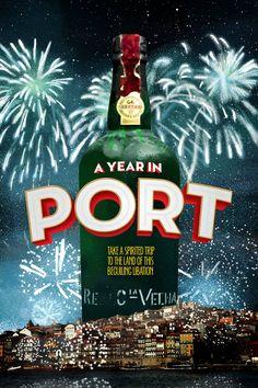 A Year in Port Movie Poster - Martine S  #AYearInPort, #MartineS, #DavidKennard, #Documentary, #Art, #Film, #Movie, #Poster
