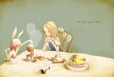 """""""Afternoon Tea Party"""" by タッシェ at pixiv.net"""