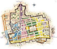 The Grand Bazaar – Maze or Oriental Feast? - Detailed map of the Grand Bazaar in Istanbul, Turkey. Istanbul Map, Grand Bazaar Istanbul, Istanbul Travel, Istanbul Guide, Istanbul Hotels, Pamukkale, Grand Bazar, Tiny Shop, Blue Mosque
