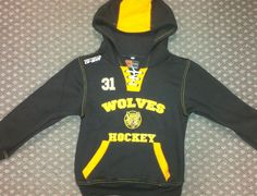 Custom hoody for Waterloo Wolves @GitchSW Facebook - Gitch Sportswear