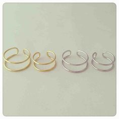 Wire rings set Wire Rings Tutorial, Ring Tutorial, Wire Crafts, Jewelry Crafts, Diy Rings, Homemade Jewelry, Perler Beads, Wire Jewelry, Jewerly