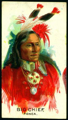 Cigarette Card - Indian Chief, Big Chief | British American … | Flickr