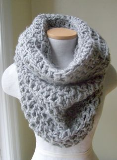 crochet cowl pattern | Crocheted Cowl Neckwarmers