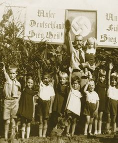 This Brazilian Hitler Youth group is from Presidente Bernardes, a state of São Paulo, Brazil. Circa 1930-1935.