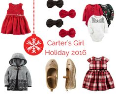 Carter's Festive Holiday PJs and Outfits For Little Ones #LoveCarters
