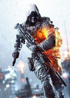 AND since we are on the topic of gaming picture mash-ups, here is this Amazing pic of a BF4 and AC IV mashed together in one cool looking dude.