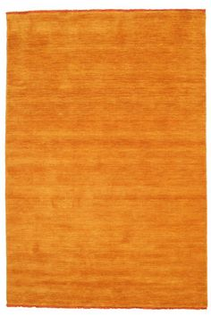 Tapis Handloom fringes - Orange 160x230