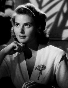 """Play it once, Sam. For old times' sake. Play it, Sam - play 'As Time Goes By'"", Ilsa Lund (Ingrid Bergman), Casablanca."