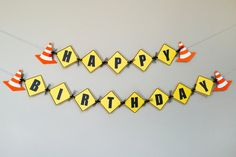 Hey, I found this really awesome Etsy listing at https://www.etsy.com/listing/224344078/under-construction-birthday-banner