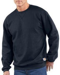 e845340c4560 Carhartt Men s Flame-Resistant Heavyweight Crew Sweatshirt