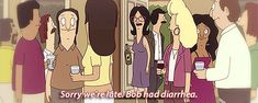 Bob's Burgers' returns for Season 5 this Sunday…so let's celebrate with some classic moments from Bob's better half. Description from pleated-jeans.com. I searched for this on bing.com/images