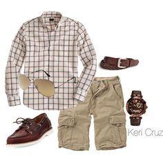 """Men's Summer Fashion"" by keri-cruz on Polyvore"