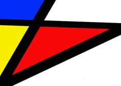 Triangularism II © Richard Reeve Photography. More available on reevephotos.com #ReevePhotos #FineArt #abstract #mondrian #triangle