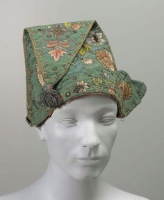 Man s cap French 18th century Moda Del Xviii Secolo 62bf0eeb8057