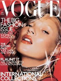 Kate Moss By Nick Knight September 2000