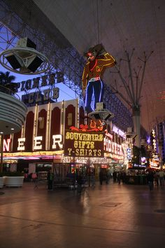 Freemont Street Las Vegas Baby!