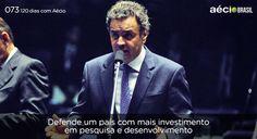 Aécio defende o país com mais investimento. #paramudarobrasil #120diascomaecio #aecioblog #aecioneves