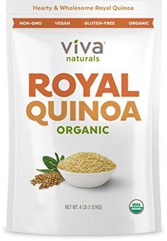 [$15.99 save 60%] #LightningDeal 80% claimed: Viva Labs - The FINEST Organic Quinoa 100% Royal Bolivian Whole G... #LavaHot http://www.lavahotdeals.com/us/cheap/lightningdeal-80-claimed-viva-labs-finest-organic-quinoa/200257?utm_source=pinterest&utm_medium=rss&utm_campaign=at_lavahotdealsus