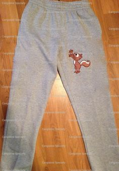 Squirrel reaching for Nuts sweatpants