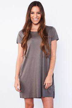 Bailey Dress - T-shirt Dress With Pockets
