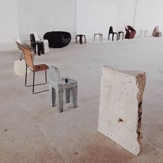 Max Lamb's Exercises in Seating.  #latergram