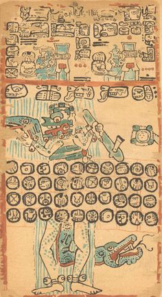 Magic Transistor Mayan Glyphs, Mayan Symbols, Aztec Empire, Aztec Art, Textiles, Ancient Art, Indian Art, American Art, South America