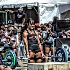 It's hard to watch the CrossFit games and not be inspired to workout.