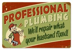 We'll repair what your husband fixed!
