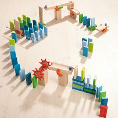 HABA wooden domino basic pack - Image HABA Wooden Dominos