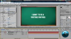 After Effects Tutorial: How to make a Writing on a Board Intro