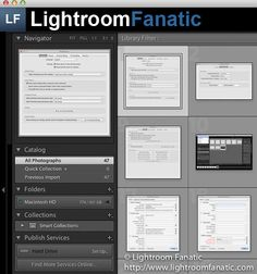 Lightroom Fanatic - Graphical Identity Plate
