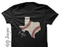 Florida Baseball Tee  Youth Baseball Shirt / State of Florida