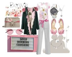 """""""Sweetest thing"""" by mistd on Polyvore featuring Music Notes, ADZif, WearAll, Valentino, Bertha, Mr & Mrs Italy, Laura Ashley, Illesteva, Gucci and Target"""