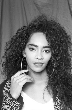 Jody Watley born January 30, 1959- she had such cool hair and always wore those big-ass earrings that i loved!