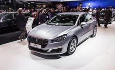 Paris motor show 2014 Peugeot 508 facelift