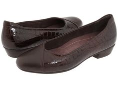Clarks Caswell Eternity Dark Brown Patent - Zappos.com Free Shipping BOTH Ways