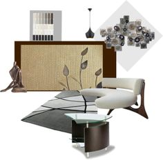"""Interior Design - Idea Set - Living Room, Den, Etc."" by art2art on Polyvore"