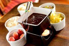 Além das opções diárias de sopas, o Felix Bristrot oferece os tradicionais fondues de queijo e chocolate (Foto: Tadeu Brunelli)