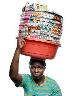 Gabriele Galimberti - Haiti street vendors