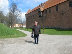 #visitfyn Here I stand just in front of the old Nyborg Castle - home of the Danehof, a kind of medieval parliement.