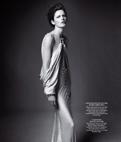 Dream Weavers: Stella Tennant in Givenchy Spring 2012 haute couture; photographed by Daniel Jackson for WSJ Magazine, May Wsj Magazine, Stella Tennant, Daniel Jackson, Jackson 5, Vogue, Female Models, Top Models, Editorial Fashion, High Fashion
