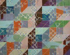 Tony Robbin: 1979, acrylic on canvas, 56 x 70 inches