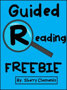 FREEBIE! Guided Reading Management Tool