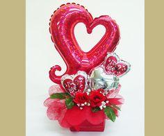 Happy Valentine's Day Balloon Bouquet